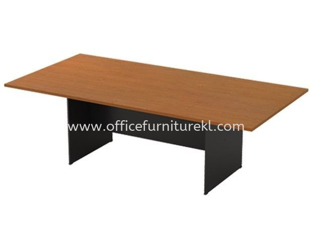 RECTANGULAR MEETING TABLE WITH WOODEN BASE GV 18