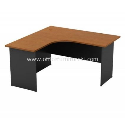 L-SHAPE TABLE WITH WOODEN BASE GL 1515