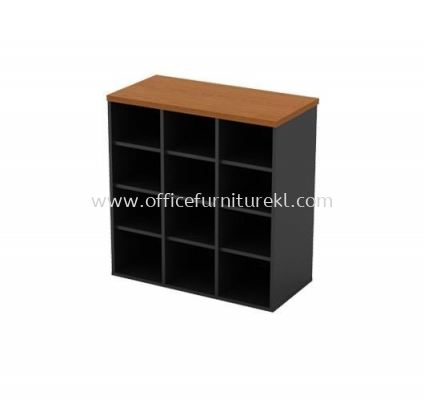 LOW CABINET WITH 12 PIGEON HOLE GP 880