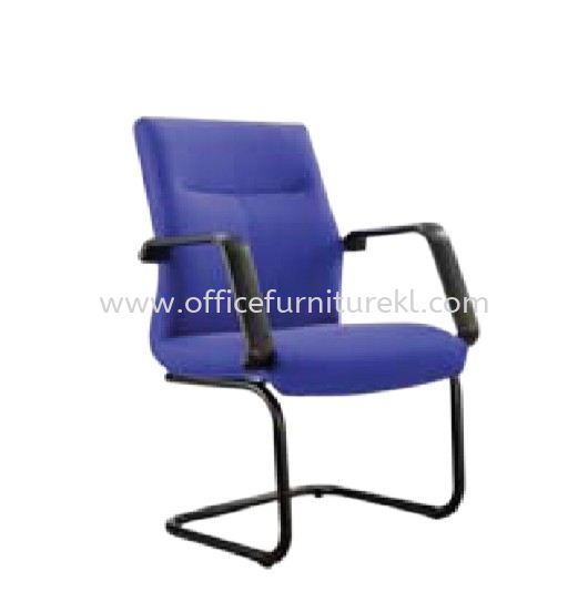 SEDAN STANDARD VISITOR FABRIC CHAIR WITH EPOXY BLACK CANTILEVER BASE ASD 183F