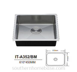 ITTO KITCHEN SINK IT-A352/BM