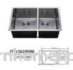 ITTO 2 BOWL KITCHEN SINK IT-A362/BSM Sink Kitchen