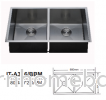 ITTO 2 BOWL KITCHEN SINK IT-A356/BBM Sink Kitchen