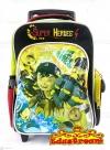 School Bag Cartoon With Trolley School Bag Stationery & Craft
