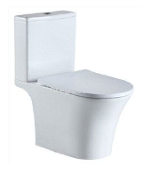 Vicenza Close-Coupled WC (Rimless)