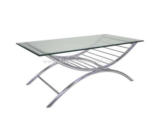 G-COMFORT RECTANGULAR COFFEE TABLE C/W TEMPERED GLASS TABLE TOP ACL 9988-5T