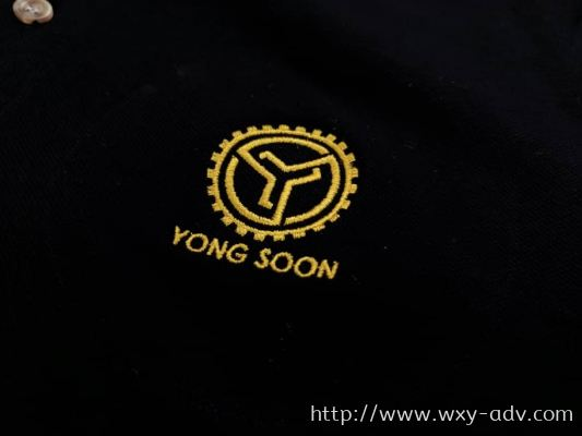 YONG SOON Embroidery UNIFORM