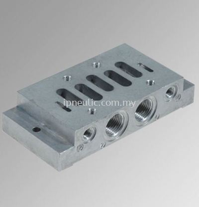 ACCESSORIES FOR VLV ISO 5599/1 SERIES IPV-ISV-- SINGLE BASE SIDE ISO 3