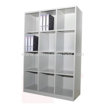 APH12-615 FULL HIGH STEEL 12 PIGEON HOLE