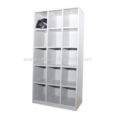 APH15-515 FULL HIGH STEEL 15 PIGEON HOLE