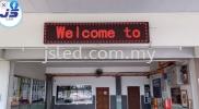 LED Display School BM Penang Single Color LED Display