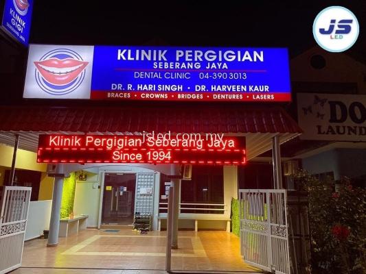 LED Display Dental Seberang Jaya Penang