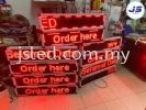 LED Display Stall Permatang Pauh Penang Single Color LED Display