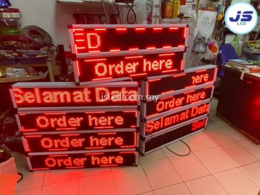 LED Display Stall Permatang Pauh Penang