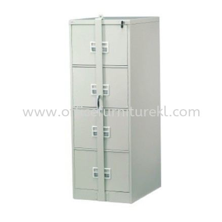 A106-LB STANDARD 4 DRAWER FILLING CABINET WITH LOCKING BAR