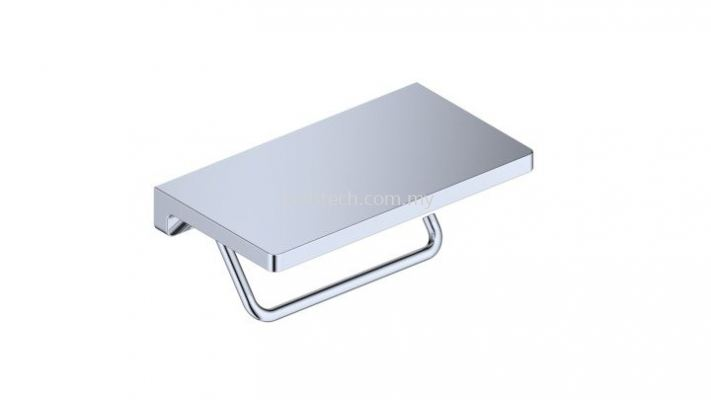 Commercial Toilet Roll Holder With Shelf (100365)