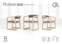 High Quality Designer Chair(Full Colour Customize) without Screws
