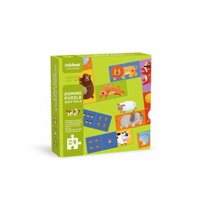 MD3044 Mideer Domino Puzzle-Zoo Pals
