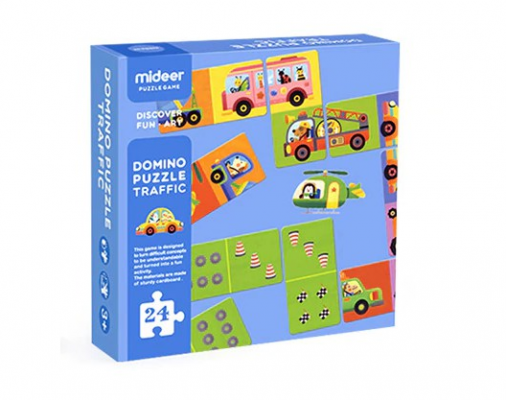 MD3057 Mideer Domino Puzzle-Traffic