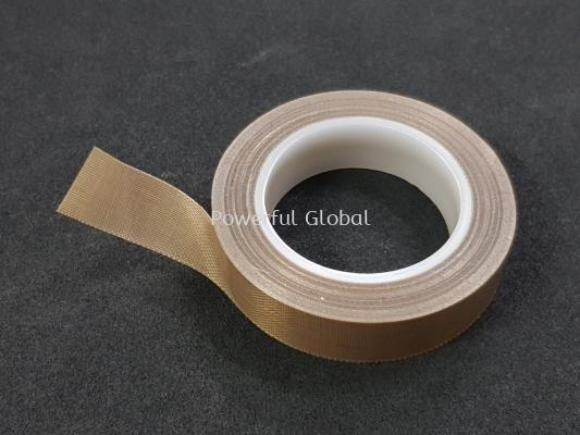 PTFE Fiberglass Coated Tape Brown