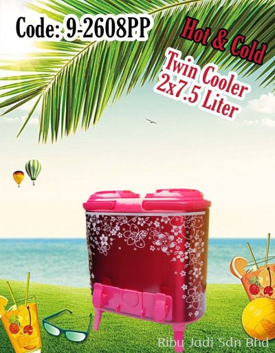 Hot & Cold Twin Cooler (2X7.5 Liter)