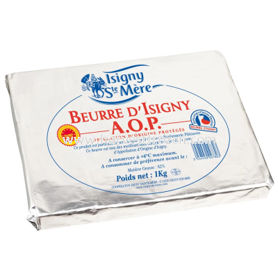 Isigny Sainte-M��re Unsalted Butter Sheets (1KG)