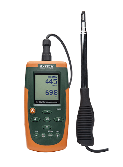 EXTECH AN500 : Hot Wire CFM/CMM Thermo-Anemometer