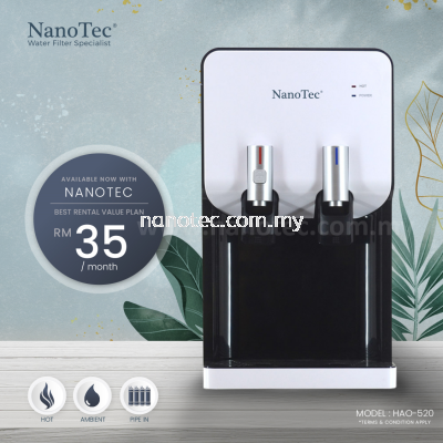 NanoTec Water Dispenser RM35 Monthly Model: HAO-202