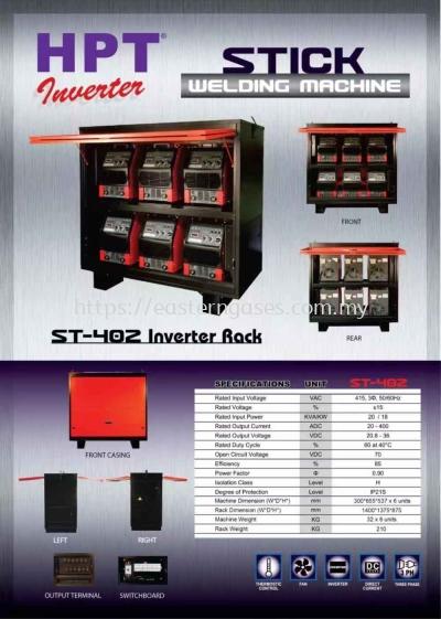 HPT STICK MACHINE ST-402 INVERTER RACK