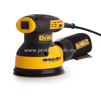 "DEWALT DWE6423 280W 125MM (5"") RANDOM ORBIT SANDER"