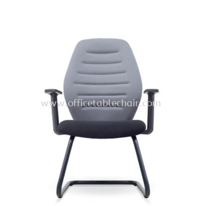 ATTIS STANDARD VISITOR ARM CHAIR WITH EPOXY BLACK CANTILEVER BASE