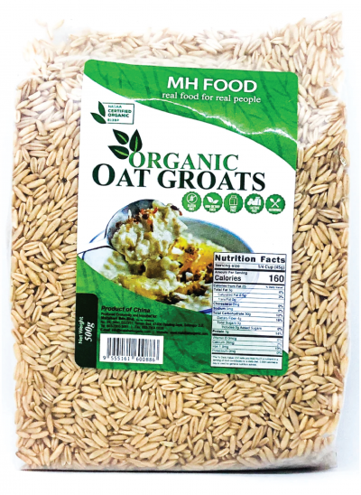 MH Food Organic Oat Groats 500gm