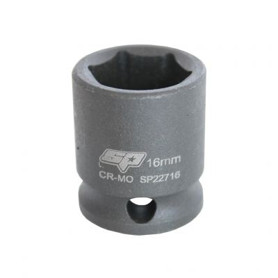 "SP TOOLS 3/8""DR IMPACT SOCKETS - 6PT METRIC - INDIVIDUAL SP22707"