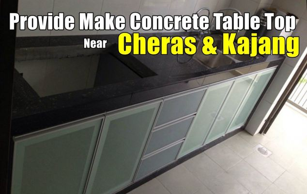 Concrete Table Top Contractor And Works In Cheras & Kajang