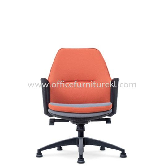 CALLA EXECUTIVE LOW BACK PU CHAIR C/W ROCKET NYLON BASE WITHOUT ROLLER