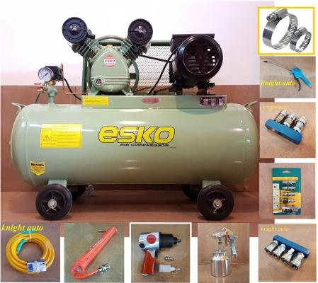 Package set-ESKO EK202 2hp 100L 8bar Air Compressor ID229862