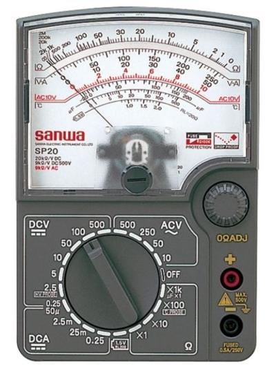 SANWA SP20 Analog Multitesters