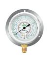 Refco MR-206-DS-R32 (LOW SIDE GAUGE) - R32/R410A Oil Filled Gauge Refco (SWITZERLAND) Air Conditioning & Refrigeration Tools