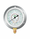 MR-306-DS-R22 (HIGH SIDE GAUGE) - R22/134A/404A  Oil Filled Gauge Refco (SWITZERLAND) Air Conditioning & Refrigeration Tools
