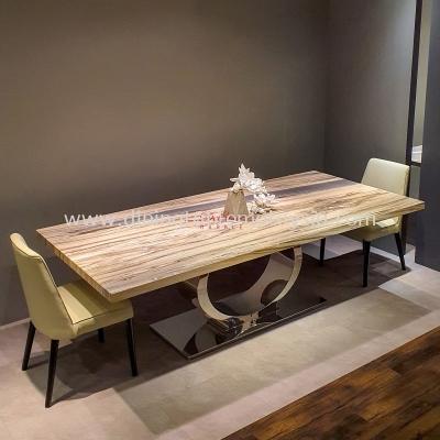 Premium Marble Table   Palisandro Bluette