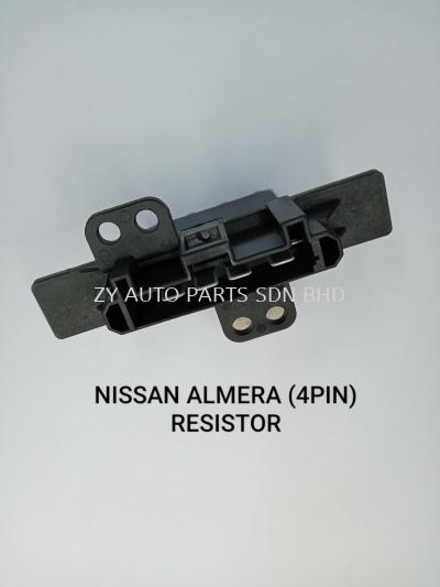 NISSAN ALMERA (4PIN) RESISTOR