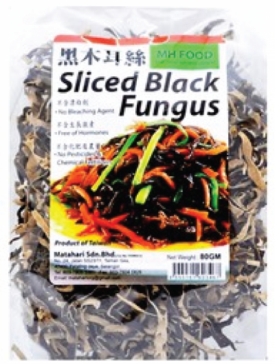 MH Food Organic Black Fungus Slice