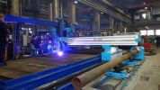 Plate & Pipe 2-in-1  Plate & Pipe 2-in-1 AMG CNC Cutting & Drilling machine