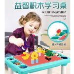 WS2965 Multi-Functional Toy Block Table