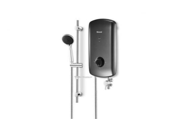 RINNAI CRYSTAL ELECTRIC WATER HEATER HANDSHOWER DC PUMP REI-B380DP-G