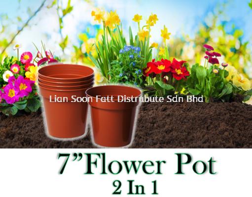 """7""""Flower Pot (2 In 1)"""
