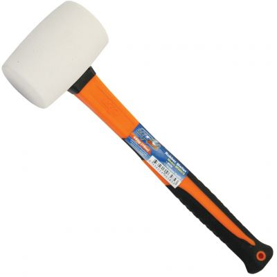 SP TOOLS RUBBER MALLET - WHITE SP30275