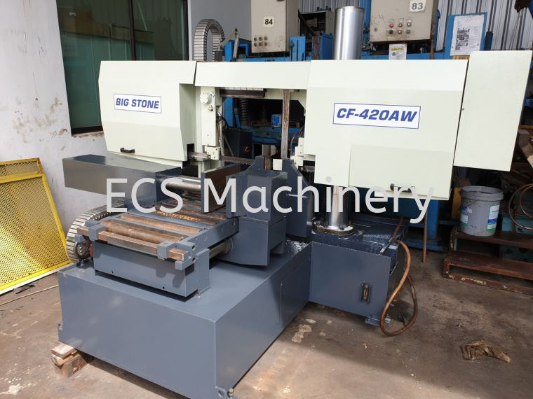 BIGSTONE AUTO COLUMN TYPE BANDSAW MACHINE Bandsaw Machine