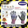 WORKER Comfort-Grip Gloves 118 Medium #8 Safety Glove Safety Products