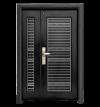 D4-304G Stainless Steel Series Deluxe Security Door  Doors